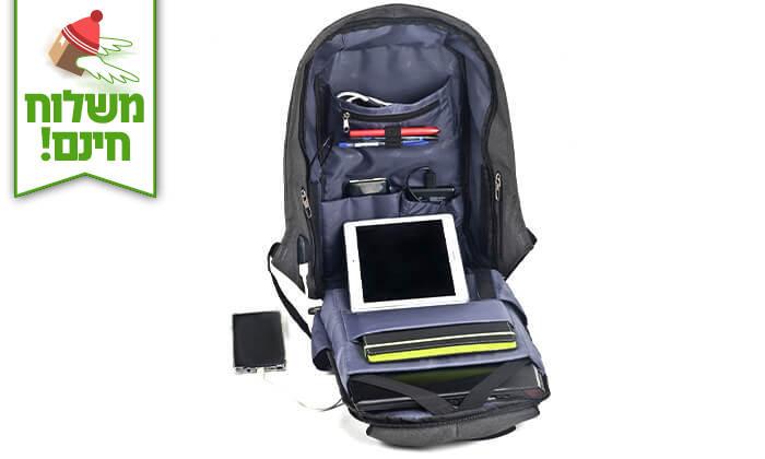 7 תיק נגד גניבות SWISS PROTECTOR למחשב נייד - משלוח חינם