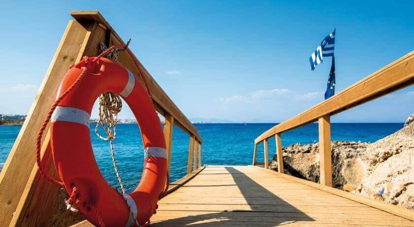 """3 מאי ברודוס - שמש, חופים וטברנות שמחות, כולל יום העצמאות וסופ""""ש"""