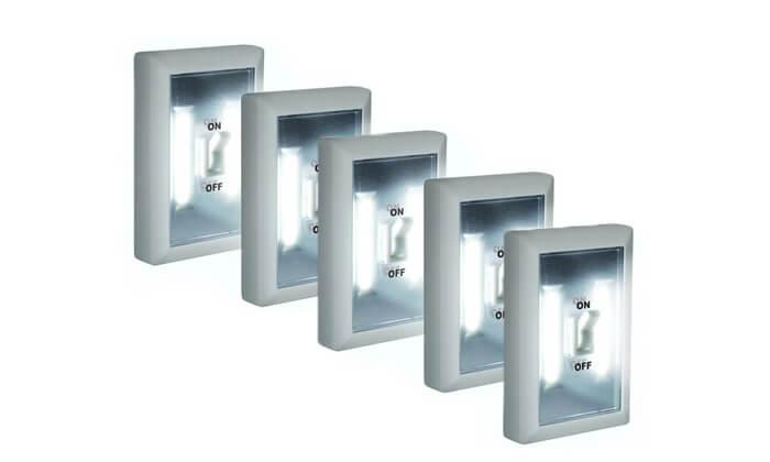 2 מנורות LED