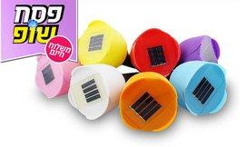 סט 10 מנורות צבעונים סולאריות