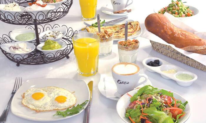 4 קפה גרג, אושילנד כפר סבא - ארוחת בוקר זוגית