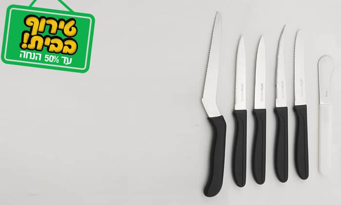 4 סט 6/4 סכינים מקצועיים סולתם SOLTAM