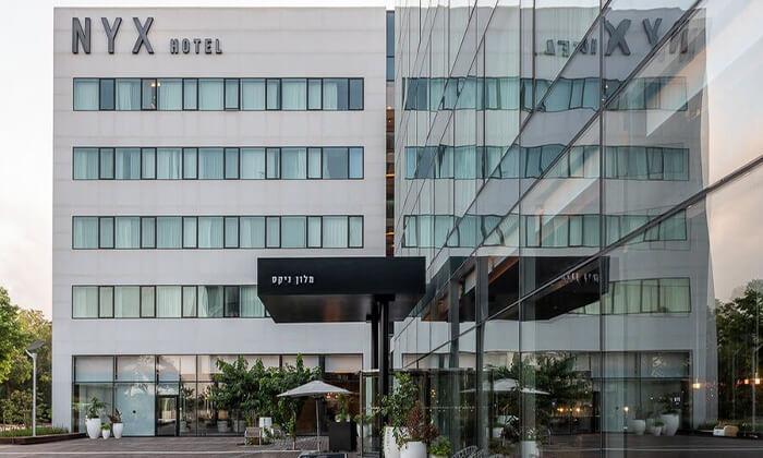13 חבילת ספא זוגיתבמלון NYX הרצליה פיתוח