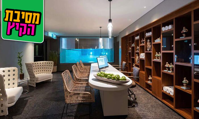 10 חבילת ספא זוגיתבמלון NYX הרצליה פיתוח