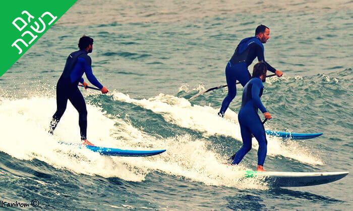 4 שיעור גלישת גלים - מועדון הגלישה ווי סרף We Surf, חוף הצוק תל אביב