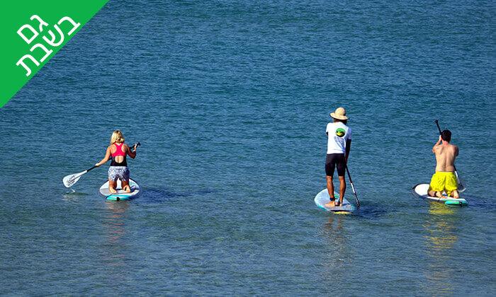 2 שיעור גלישת גלים - מועדון הגלישה ווי סרף We Surf, חוף הצוק תל אביב
