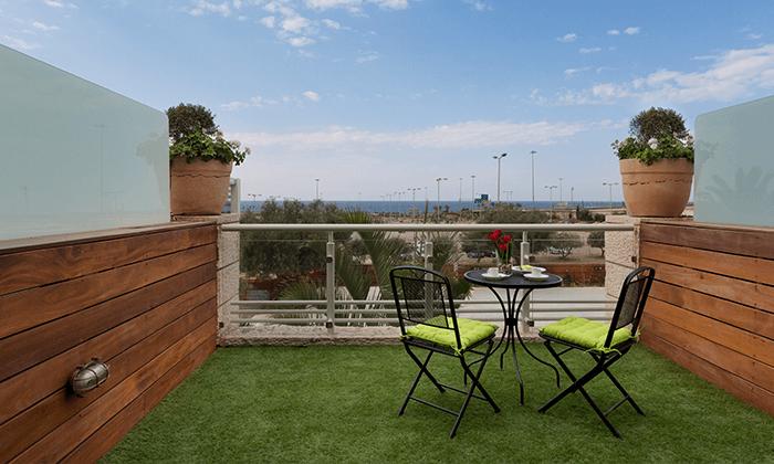 5 גארדן הוטל חיפה - מלון בוטיק למרגלות הכרמל