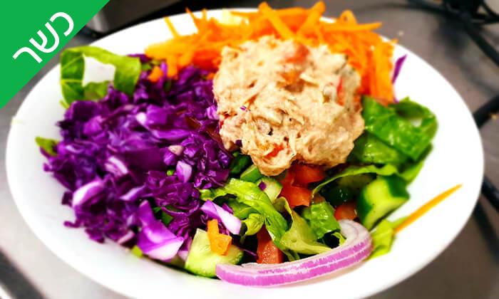4 ארוחה זוגית כשרה ב'הפקקפה', הרכבת תל אביב