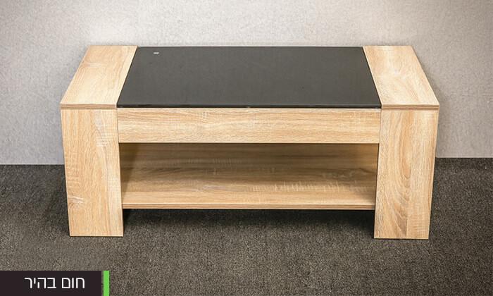 4 שולחן סלון מעוצב