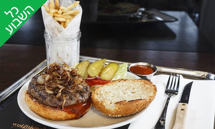 4 וולפנייטס wolfnights המבורגר שף בתל אביב - ארוחה זוגית