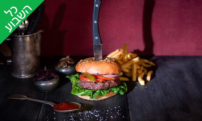 3 וולפנייטס wolfnights המבורגר שף בתל אביב - ארוחה זוגית