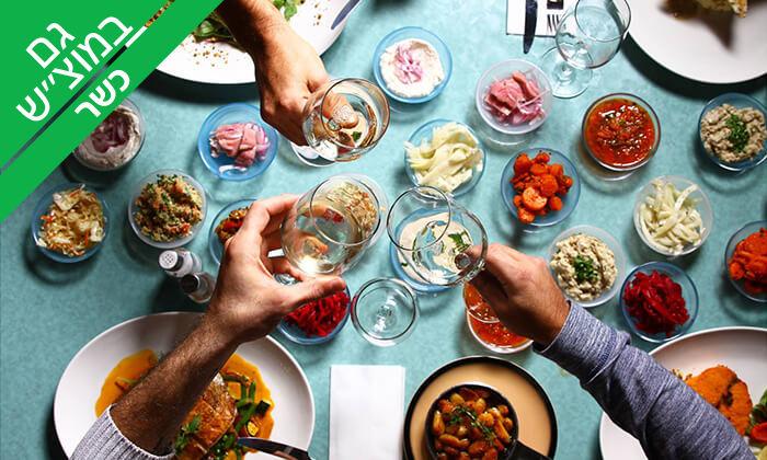 11 דרבי בר דגים ובשרים, מרינה אשקלון - ארוחה זוגית כשרה