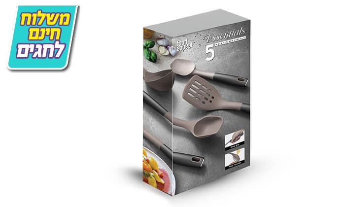 4 סט סירים ומחבתות 8 חלקים food appeal