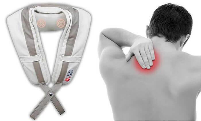 2 חגורת עיסוי חשמלית לצוואר ולכתפיים