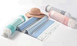 מגבת חוף 100% כותנה