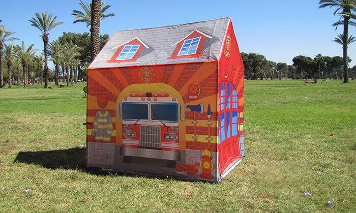 2 אוהלים מעוצבים לילדים
