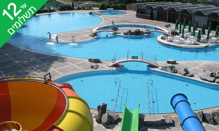 10 יוני-אוגוסט למשפחות בסלובניה, כולל פארק המים והספא התרמי Terme Čatež