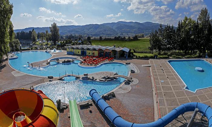 2 יוני-אוגוסט למשפחות בסלובניה, כולל פארק המים והספא התרמי Terme Čatež