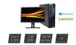 מחשב נייח LENOVO עם מסך מתנה