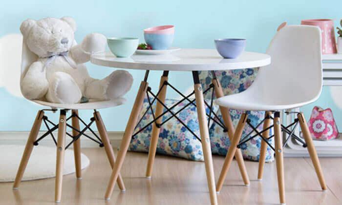 6 שולחן וכיסאות לחדר ילדים