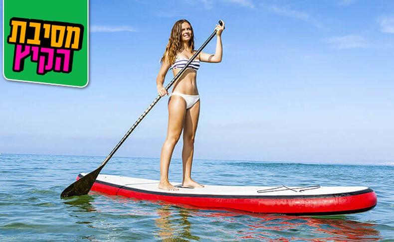 השכרת גלשן גלים בחוף גורדון