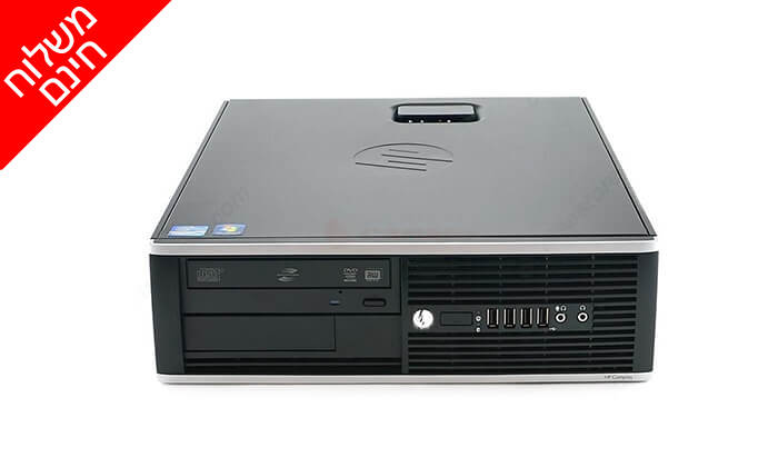 4 מחשב נייח HP עם מעבד i5- משלוח חינם