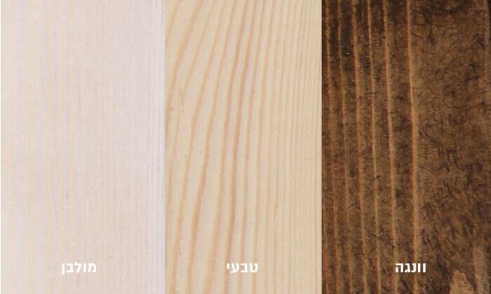 3 אולימפיה: מיטה מעץ מלא עם מזרן