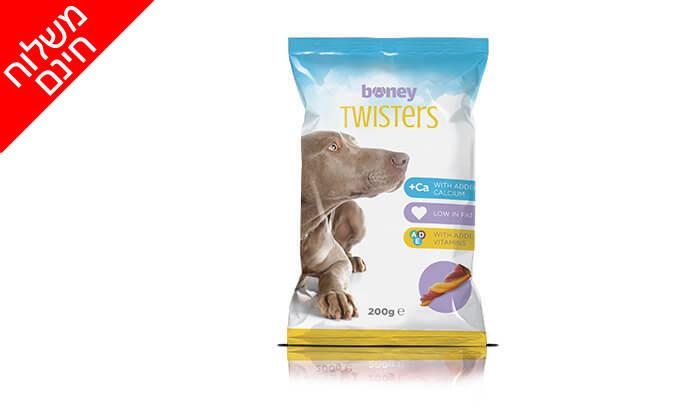 3 מארז 20 חבילות חטיפי boney לכלב - משלוח חינם!