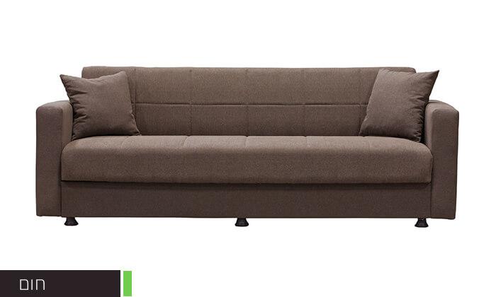 4 ספה נפתחת למיטה BRADEX