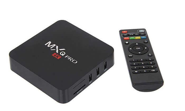 4 מיני מחשב סטרימר MXQ Pro