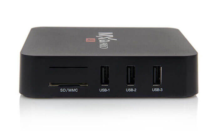 6 מיני מחשב סטרימר MXQ Pro