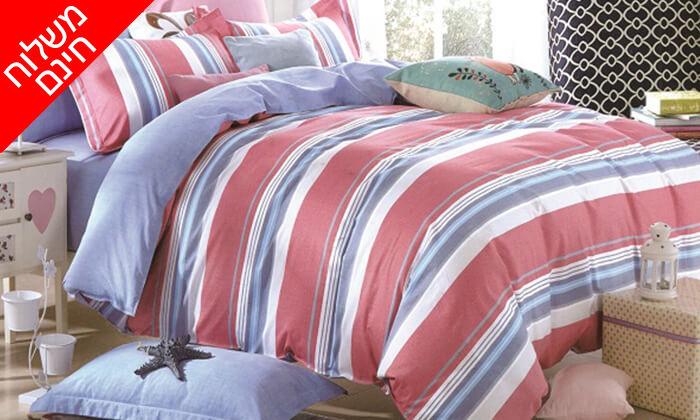 4 4 סטים של מצעי קיץ ומעבר למיטה זוגית - משלוח חינם!
