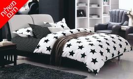 מצעי קיץ למיטה זוגית - 4 סטים