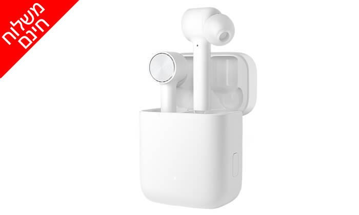 6 אוזניות Bluetooth אלחוטיות Xiaomi - משלוח חינם!