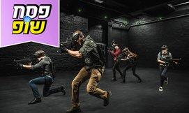 משחק מציאות מדומה במתחם ANVIO