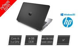 נייד HP עם מסך 14 אינץ'