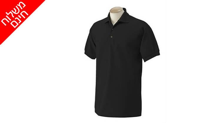 4 3 חולצות פולו מנדפות זיעהT-GOLD - משלוח חינם