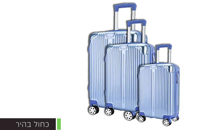 6 סט 3 מזוודות קשיחות Darna