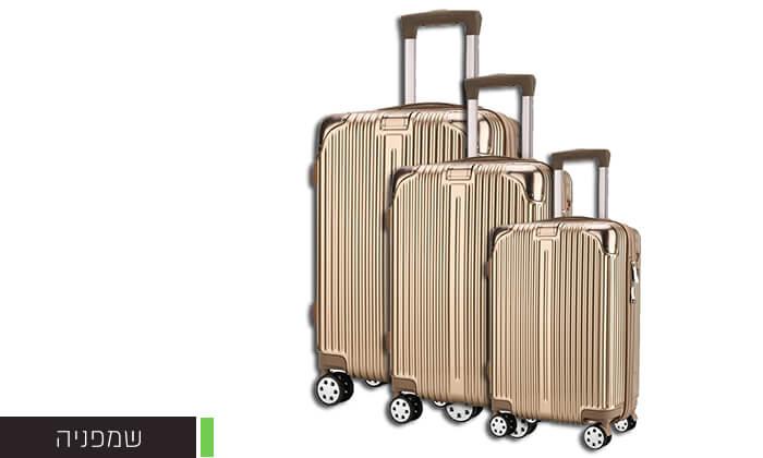 3 סט 3 מזוודות קשיחות Darna