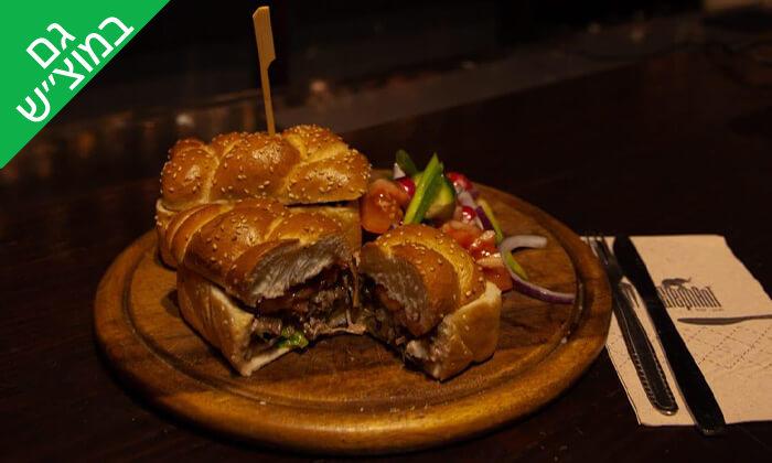 2 ארוחה ודרינק בפאב האלפנט, חיפה
