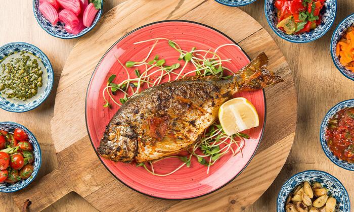 6 ארוחה זוגית בשרית במסעדת צ'ומה הכשרה בגן העיר, תל אביב