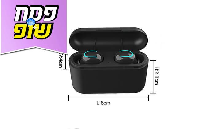 4 אוזניות בלוטות' אלחוטיות HBQ