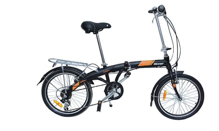 2 אופניים מתקפלים