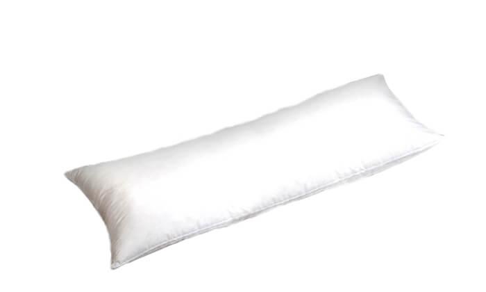 3 כרית שינה ארוכה עם ציפית