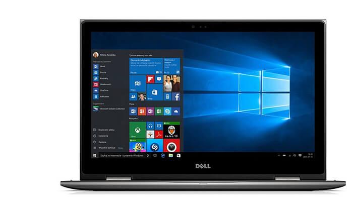 5 מחשב נייד דל DELL עם מסך 13.3 אינץ'