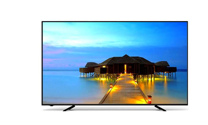 2 טלוויזיה חכמה 4K SUZUKI Energy, מסך 50 אינץ'