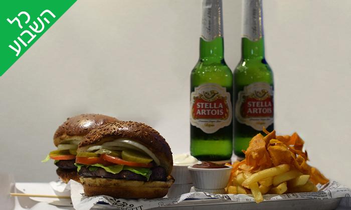 4 מסעדת בצל סגול באילת - המבורגר ובירה