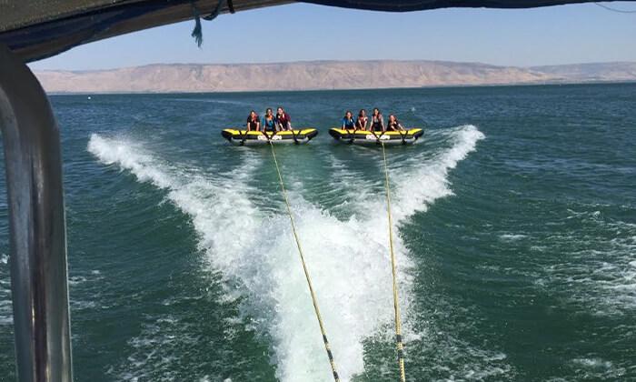 3 חוויית אקסטרים ב'עולם המים', ספורט ימי על שפת הכנרת