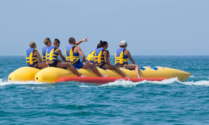 2 3 חוויות אקסטרים ב'עולם המים', ספורט ימי על שפת הכנרת