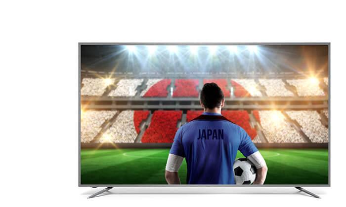 2 טלוויזיה חכמה 4K SUZUKI Energy, מסך 65 אינץ'